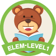 Level 1 Barry the Reading Bear